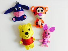 Kubuś Puchatek filc Winnie The Pooh