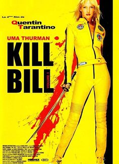 Kill Bill Vol. 1 and 2 (2003-2004) Directed by Quentin Tarantino, starring Uma Thurman, Lucy Liu, David Carradine, Daryl Hannah.. The Bride wakens from a four-year coma. The child she carried in her womb is gone. Now she must wreak vengeance on the team of assassins who betrayed her - a team she was once part of.