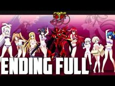 "High School DxD BorN - Ending FULL - StylipS ""Give Me Secret"" - YouTube"