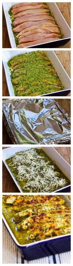 Baked Pesto Chicken - Recipebest