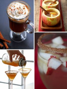 Collect of Fall Cocktail Recipes #entertaining