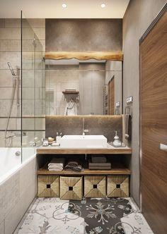 Un appartamento dai colori soft a San Pietroburgo - Coffee Break Bathroom Styling, Bathroom Inspiration, Interior, Bathroom Makeover, Apartment Design, Interior Design Kitchen, Bathroom Interior Design, Bathroom Design, Blue Interior