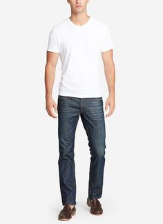 The Blue Jean - Tumble Dark Wash | Dark Wash Blue Jeans Made from Cone Denim® - Bonobos Men's Clothes - Pants, Shirts and Suits