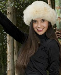 Premium Baby Alpaca Fur Hat from the Crystal Lake Alpaca Boutique - absolutely gorgeous!