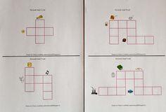 Min blogg om allt mellan himmel och jord: Montessorimaterial: Korsord med tre bokstäver (ljudenliga ord)