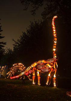 Pumpkin Brontosaurus