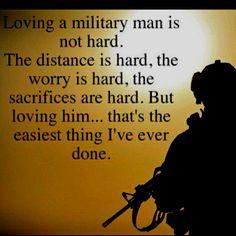 Loving a military man