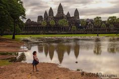Girl Angkor Wat Three Days One Day Is Not Enough Cambodia Siem Reap