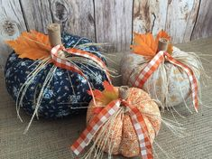 Excited to share this item from my shop: fabric fall pumpkins, fall decoration, autumn decor, thanksgiving table decor or gift. Wood Pumpkins, Fabric Pumpkins, Fall Pumpkins, Sweater Pumpkins, Thanksgiving Decorations, Halloween Decorations, Thanksgiving Table, Fall Decorations, Pumpkin Pictures