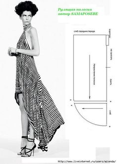 Pattern making - sewing - Mod@ en linea, Sewing Patterns Free, Free Sewing, Sewing Tutorials, Clothing Patterns, Dress Patterns, Diy Clothing, Sewing Clothes, Diy Fashion, Ideias Fashion