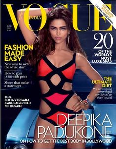 Deepika Padukone on the cover of Vogue June 2012 http://shar.es/qhF03