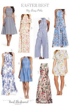 Easter Dress Favorites