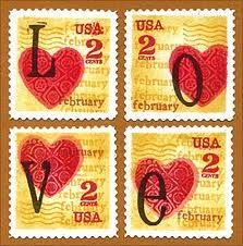 valentine post stamps - Google zoeken