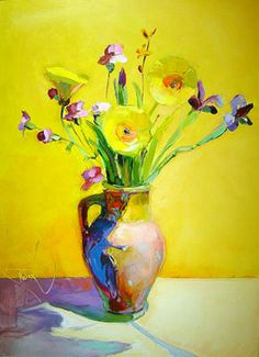 Bob Ransley: Floral Paintings brought to you by Art Post Gallery