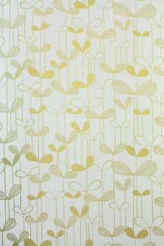 Tapeten - Tapete/Wallpaper - Saplings - ein Designerstück von stoffsalon bei DaWanda