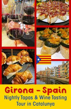 Travellers to Girona Spain want to find the best tapas and wine. Join the Girona Tapas Tour and discover the best Food Tour of Girona with Girona Food Tours. #girona #foodtour #spain #foodie