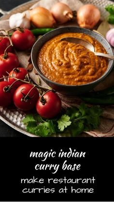 This magic curry gravy will take your Indian cooking to the next level! Indian Beef Recipes, Spicy Recipes, New Recipes, Dinner Recipes, Favorite Recipes, Healthy Recipes, Tandoori Masala, Ethnic Food, Recipe Community