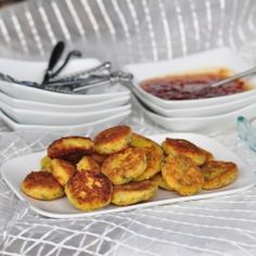 Cheese Fritters Appetizers - Crispy soft fritters with savoury pepper jelly. Serve these little gems as an appetizer.