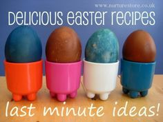 Easter recipes for kids: nest cakes, bunny lollipops, hot cross buns and more. Great recipes :)