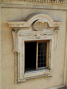 Window surround detail - Palais Barberini, 1627-1633