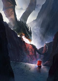Guardian of the Realm Tags: Fantasy art, dragon Mythical Creatures Art, Mythological Creatures, Fantasy Creatures, Fantasy Concept Art, Fantasy Artwork, Dark Fantasy, Fantasy Monster, Monster Art, Legends And Myths