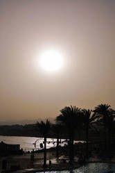 Traumhafter Sonnenuntergang über Sharm el Sheikh