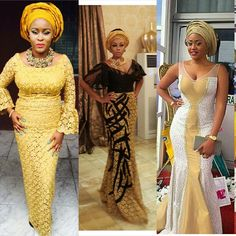 Heart-Appealing Aso Ebi Styles You Would Always Cherish - Wedding Digest Naija African Dresses For Women, African Attire, African Wear, African Women, African Outfits, African Clothes, African Beauty, African Inspired Fashion, African Print Fashion