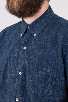 Our Legacy 1950s Ethnic Indigo Check - Our Legacy
