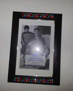 Check out this item in my Etsy shop https://www.etsy.com/listing/212693674/hand-decorated-jeweled-picture-frame