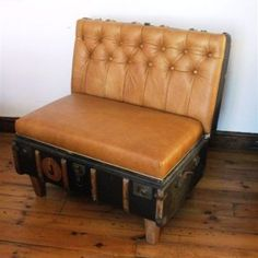 Suitcase Chair – Butternut Leather Holland