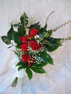 Small presentation bouquet