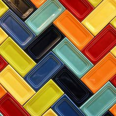 Do You Love Fiesta But Can T Decide What Color For Your Backsplash Why Not Mix It Up We Wait To See This Lover Does With Her Tiles