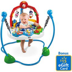 Fisher-Price - Laugh & Learn, Jumperoo with Bonus eGift Card