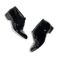 Les Prairies de Paris™ Baby Jump Patent Oxford Booties - shoes & boots - Women's NEW ARRIVALS - Madewell