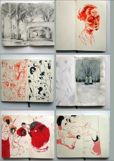 Artists Sketchbooks