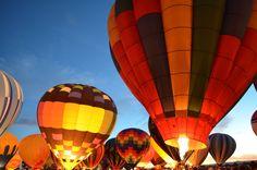 Albuquerque Balloon Fiesta- www.afriendafar.com #Albuquerque #BalloonFiesta