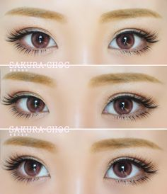 Cosmetic Colored Contact Lenses Costume Party Annular Ringlike Style
