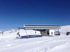 Sulden am Ortler Skigebiet Madritsch  (Bergstation Sessellift Schöntauf 2) April 2014