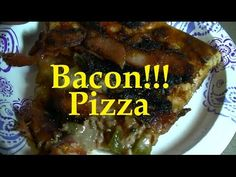 BACON Wrapped PIZZA Leftovers
