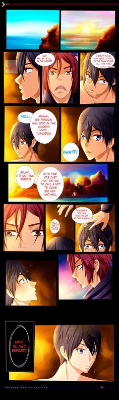 RinHaru: A Mermaid Tale 16 by Zakuuya.deviantart.com on @DeviantArt  RinHaru   Haruka Nanase and Rin Matsuoka from Free! Iwatobi Swim Club / Free! Eternal Summer   Manga / Anime   Fan art   Doujinshi   Yaoi   BL