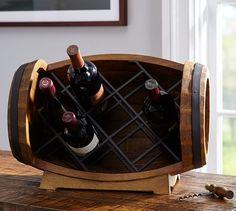 Barrel Tabletop Wine Rack | Pottery Barn