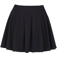 Don't Ask Amanda Ponte Full Circle Skirt ($24) ❤ liked on Polyvore featuring skirts, bottoms, saias, faldas, skater skirt, mid length skirts, mid length circle skirt, blue circle skirt and ponte skirt