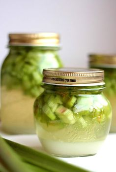 Coffee Drinks, Pickles, Cucumber, Mason Jars, Food, Essen, Mason Jar, Meals, Pickle