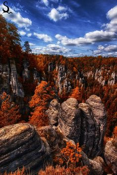 The National Park of Saxon Switzerland in eastern Germany offers endless ways to spend your holiday. The region between Pirna and the Czech border is one of the most beautiful landscapes in Europe. More than 700 summits are available to rock climbers. htt