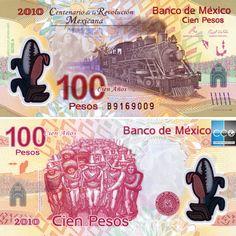 locomotive qui transportait des troupes révolutionnaires en 1910 #mexique #MXN #banknote #mexico #tourisme Locomotive, Mexican Revolution, Z New, Centenario, Revolutionaries, Mxn, Painting, America, Ticket Template