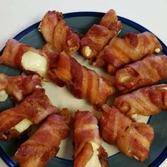 Bacon is essentially the duct tape of the Keto diet. You can wrap anything with them, including mozzarella sticks. These bacon wrapped mozzarella sticks are extraordinary. The combination of the flavorful bacon and the slightly melted cheese is phenomenal. Low carb keto bacon wrapped mozzarella sticks make a fantastic addictive snack and an excellent party appetizer. And with only two basic ingredients, they are ready in a very short time. They are best served with blue cheese or ranch dressing.