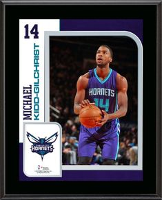 da5923e668c Michael Kidd-Gilchrist Charlotte Hornets 10.5'' x 13'' Sublimated Player  Plaque