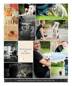 Real men love their dogs ... and theyre not afraid to show it! Ladies what are you waiting for, book him in for a shoot!
