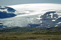 Vøringfossen - Nationaalpark Hallingskarvet - gletsjer Hardangerjøkulen