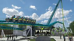 Take a virtual ride on Fury 325, the new record-breaking roller coaster coming to Carowinds